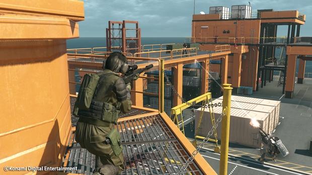 Metal Gear Online Cloacked in Silence Screen 04