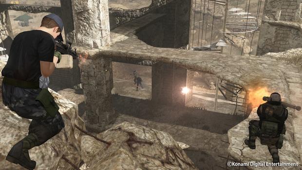 Metal Gear Online Cloacked in Silence Screen 08