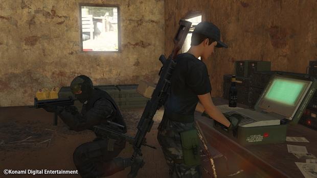 Metal Gear Online Cloacked in Silence Screen 10