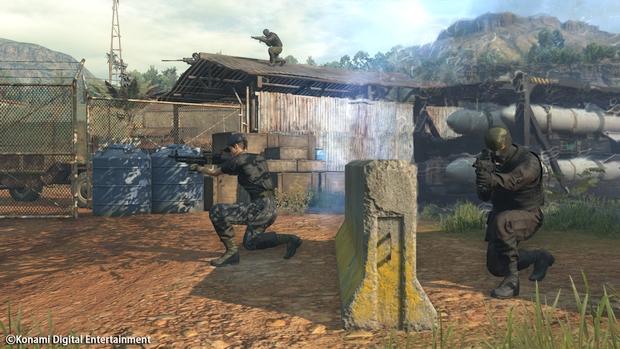 Metal Gear Online Cloacked in Silence Screen 11