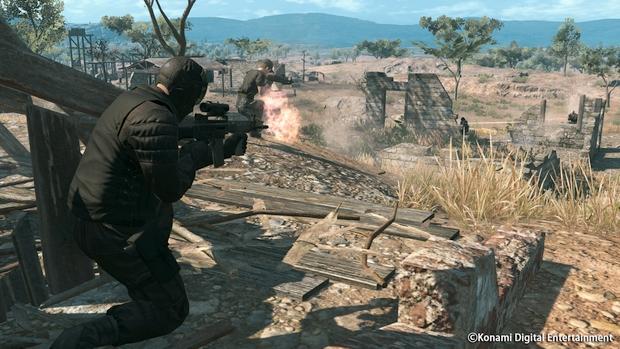 Metal Gear Online Cloacked in Silence Screen 13