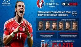 PES 2016 UEFA Euro 2016 Gareth Bale