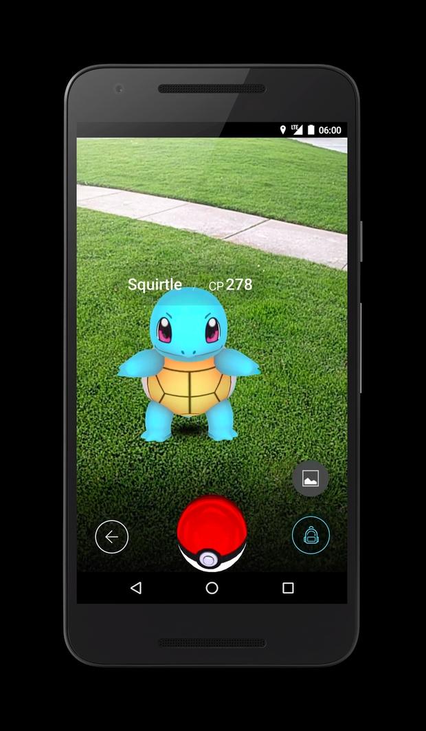 Pokemon Go Screen 2