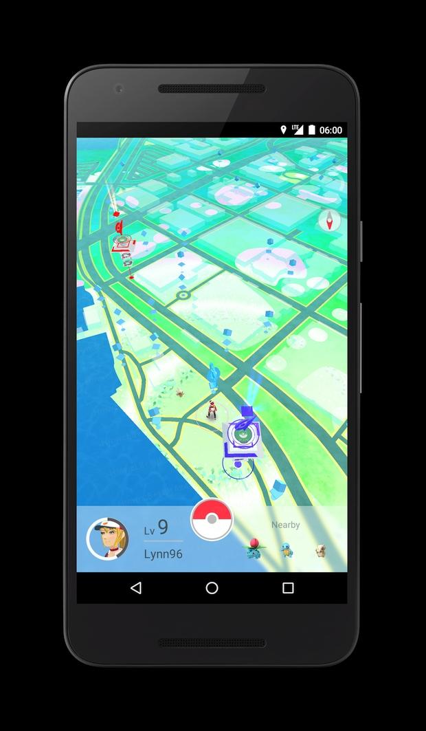 Pokemon Go Screen 3