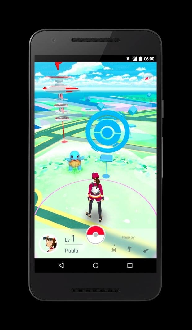 Pokemon Go Screen 4