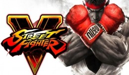 Street Fighter V Test Review Logo