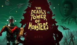 The Deadly Tower of Monsters Test Review Screen Logo