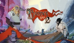 The banner saga 2 screen logo title