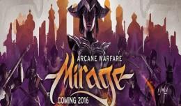 arcane warfare mirage logo