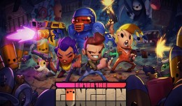 enter the gungeon artwork logo