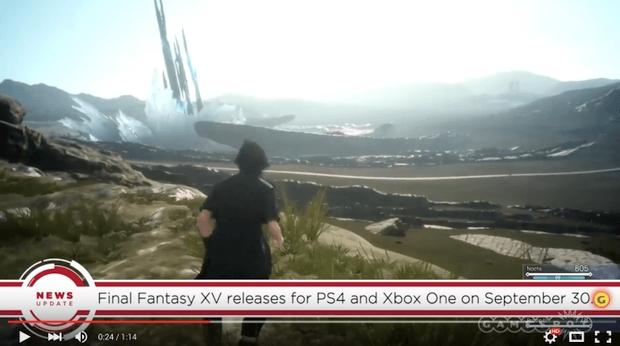 final fantasy xv sortie date release