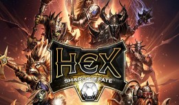 hex shards of fate review screen logo