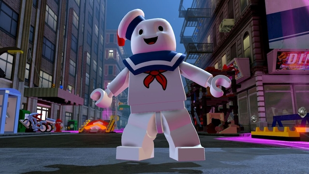 lego dimensions stay puft ghostbusters pack