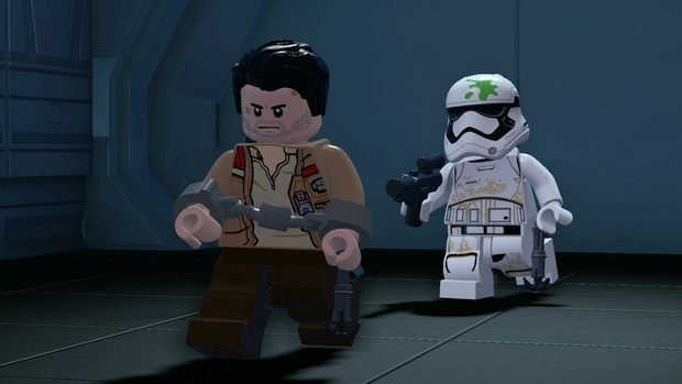 lego star wars force awakens gameplay screen 1
