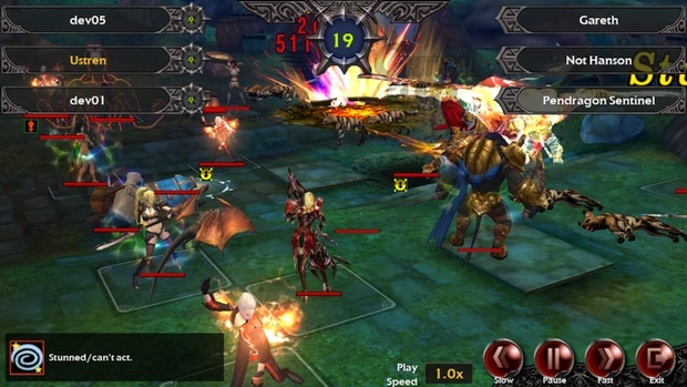 nexon legion of heroes paques screen gameplay 1
