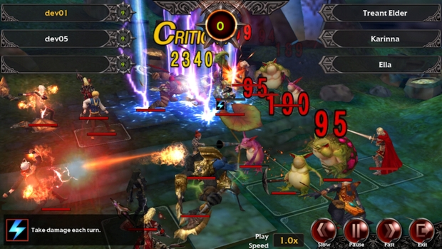 nexon legion of heroes paques screen gameplay 3