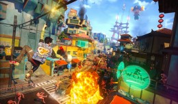 sunset overdrive games with gold logo