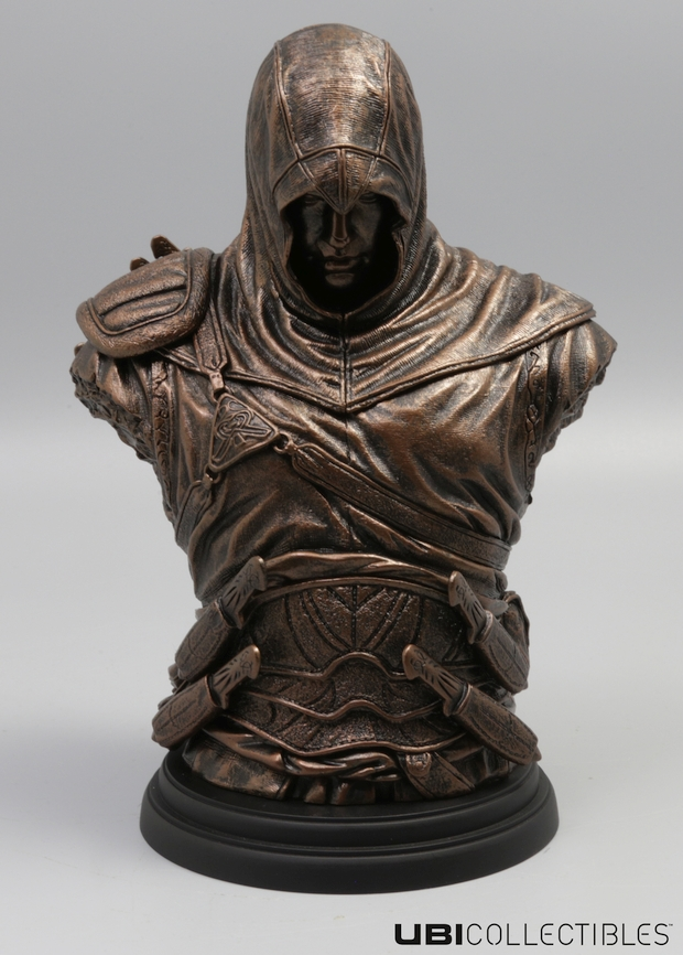 Assassin's Creed Altair bronze bust screen 1