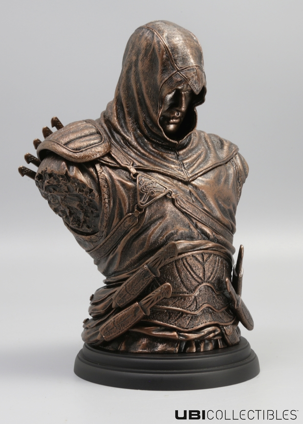 Assassin's Creed Altair bronze bust screen 2