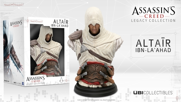 Assassin's Creed Altair bust packaging