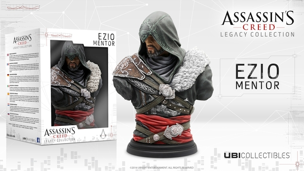 Assassin's Creed Ezio bust