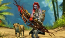 Guild Wars 2 Update Tiger Screen Logo