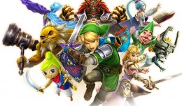 Hyrule Warriors Legends 3DS Test Review Logo