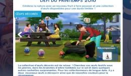 Les Sims 4 défis de printemps logo
