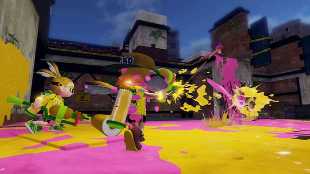 Splatoon Bob l'éponge spongebob screen 3