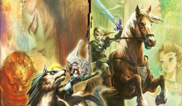 The Legend of Zelda Twilight Princess HD Test Review Logo