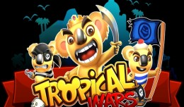 Tropical Wars Screen Logo