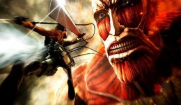 attack on titan wings of freedom playstation 4 screen logo
