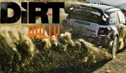 dirt rally test review screen logo