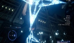 final fantasy xv platinum demo cross shuriken