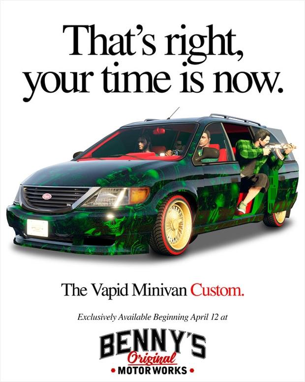 gta online vapid minivan