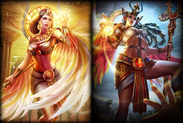 Win Isis and her Skin Desert Omen (3 Codes on PC) Image