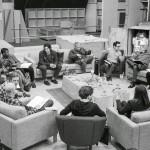 Le blu-ray des bonus arbore LA photo emblématique de cet épisode: la lecture du script par Mark Hammil!