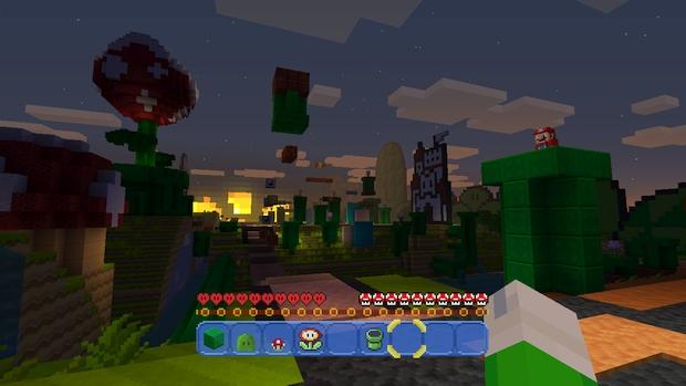 Minecraft Wii U Mashup Pack Mario Screen (1)