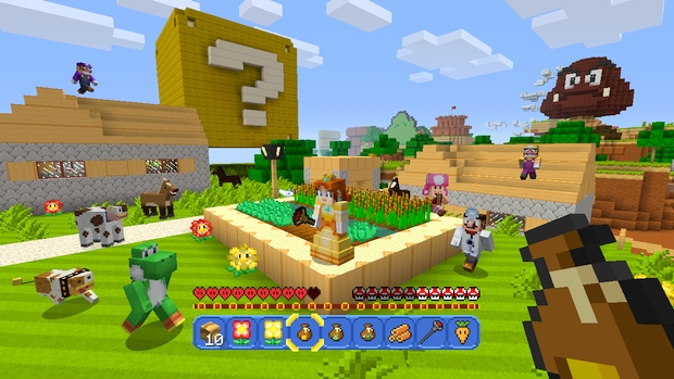 Minecraft Wii U Mashup Pack Mario Screen (11)