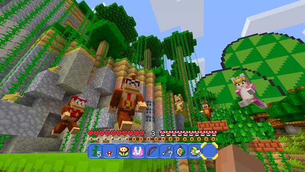 Minecraft Wii U Mashup Pack Mario Screen (12)