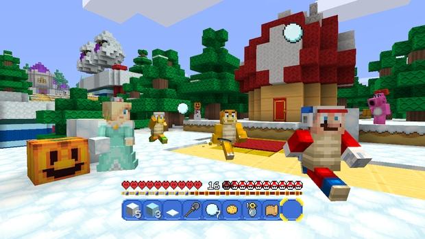 Minecraft Wii U Mashup Pack Mario Screen (4)