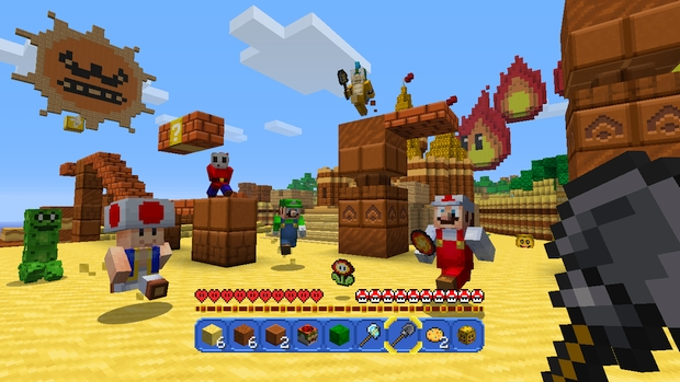 Minecraft Wii U Mashup Pack Mario Screen (5)