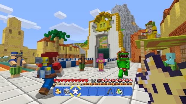 Minecraft Wii U Mashup Pack Mario Screen (6)