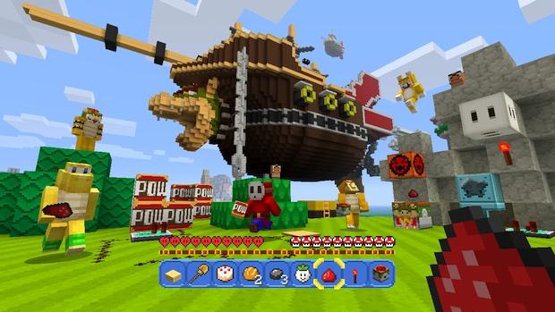 Minecraft Wii U Mashup Pack Mario Screen (7)