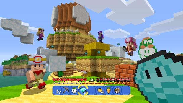 Minecraft Wii U Mashup Pack Mario Screen (8)