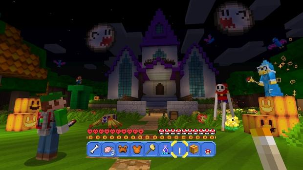 Minecraft Wii U Mashup Pack Mario Screen (9)