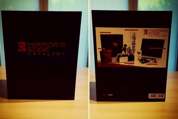 mirror's edge catalyst collector's edition boitier et goodies photo (1)