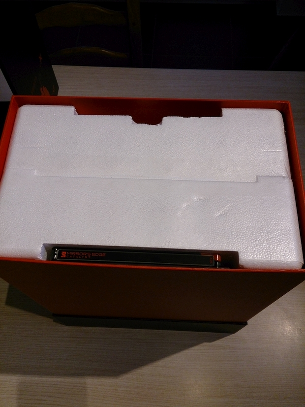 mirror's edge catalyst collector's edition boitier et goodies photo (5)
