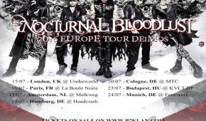 nocturnal bloodlust european tour 2016