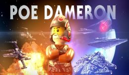 poe dameron lego star wars vii